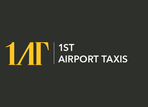 1ST Airport Taxis Logo